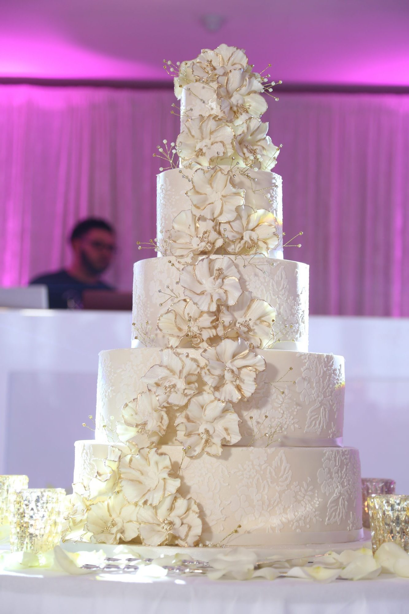 Iced Collection Stacked Style 501 Asian Wedding Cakes